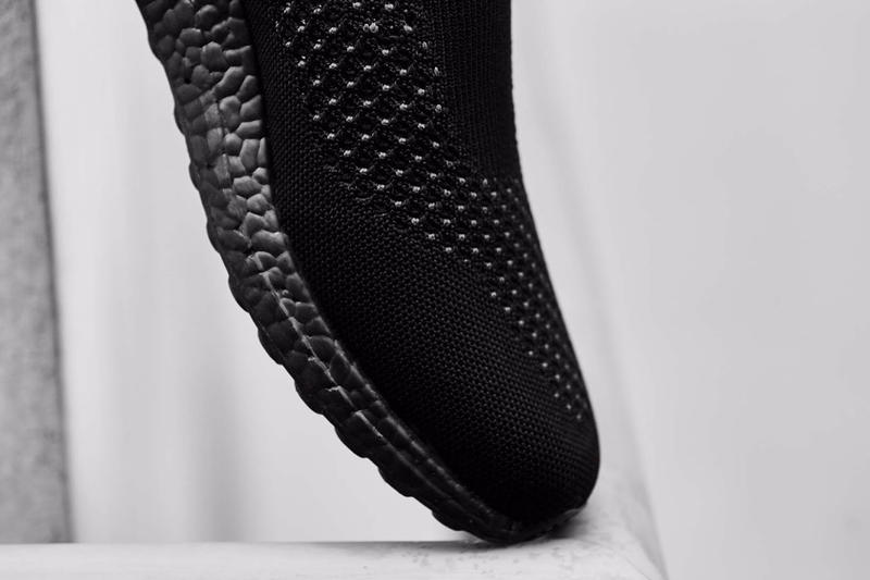 "adidas ACE16+ UltraBOOST ""Triple Black"" a Closer Look Three Stripes Football Soccer Slip-on"