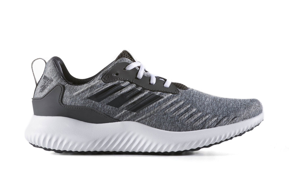 low priced 324c6 8d226 Take a Look at the New adidas AlphaBOUNCE RC in Dark Grey Heather