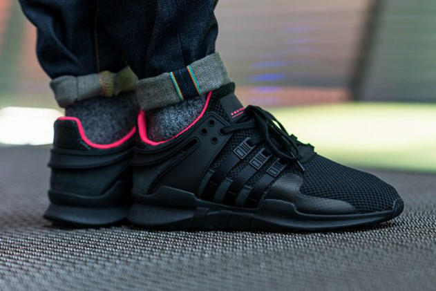 huge discount 62604 4c902 adidas EQT Support ADV Core Black Turbo Red