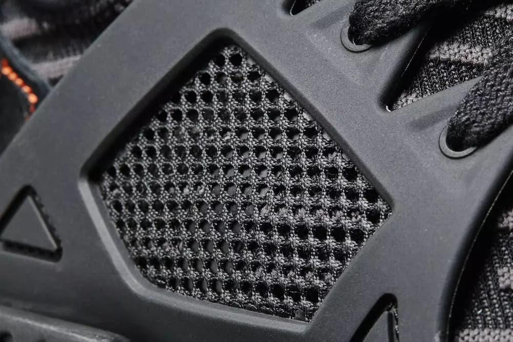 "adidas NMD XR1 ""Triple Black"" a Closer Look Three Stripes BOOST sole R2 Primeknit pattern"