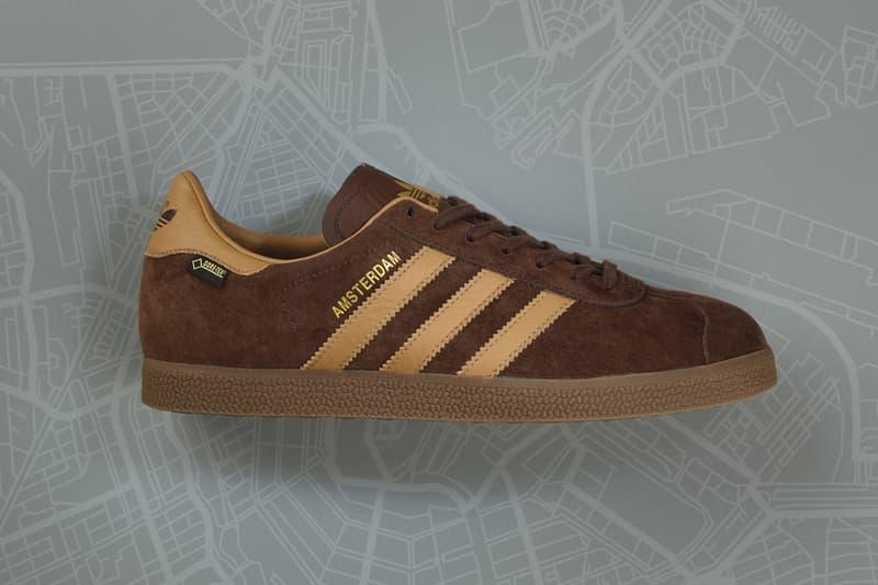 fashion well known skate shoes adidas Originals x size Gazelle GTX Amsterdam Winter Sneaker ...
