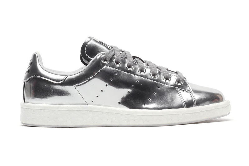 adidas Originals Stan Smith BOOST Metallic Silver Sneaker  5f70bca48