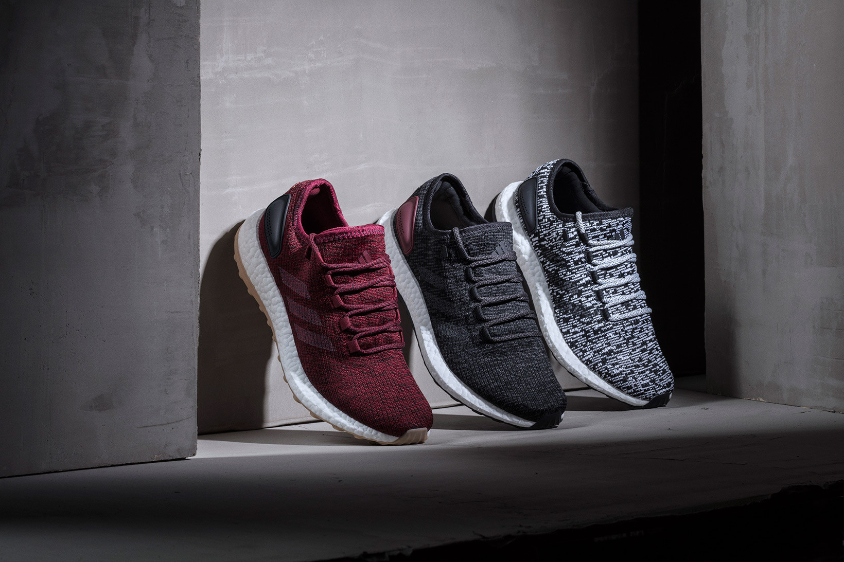 adidas Welcomes Burgundy to Pure BOOST