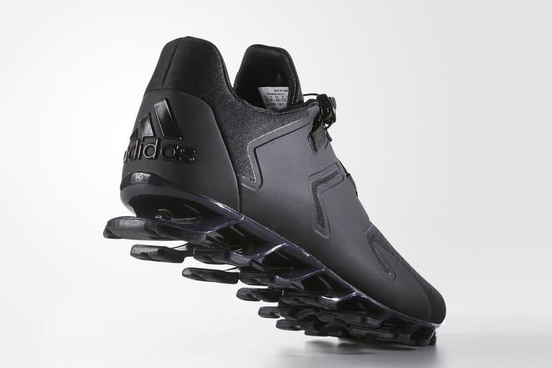 9fcad2e16bbb adidas Springblade Solyce Triple Black Sneaker