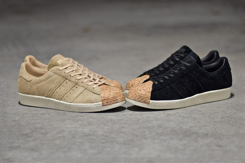 18644c210508a8 adidas Originals Brings Cork Accents to the Superstar 80s