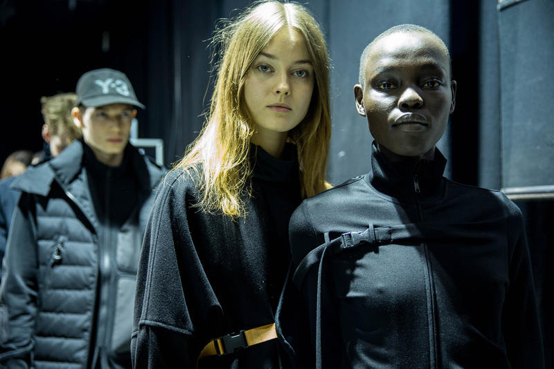adidas Y-3 2017 Fall/Winter Collection Backstage Look
