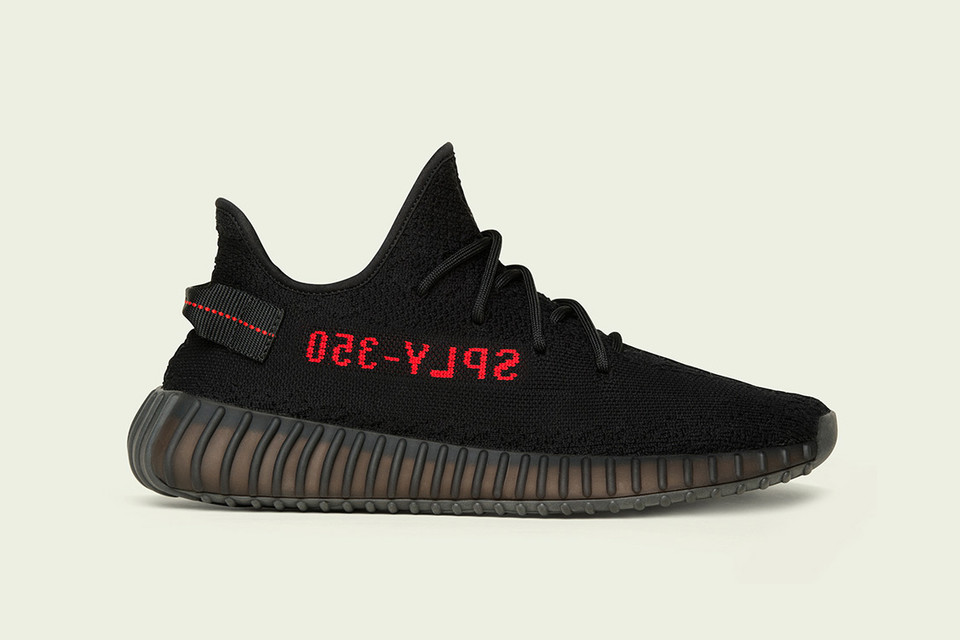 d5bcd92bf8322 adidas Originals YEEZY BOOST 350 V2 Black Red Official Store List ...