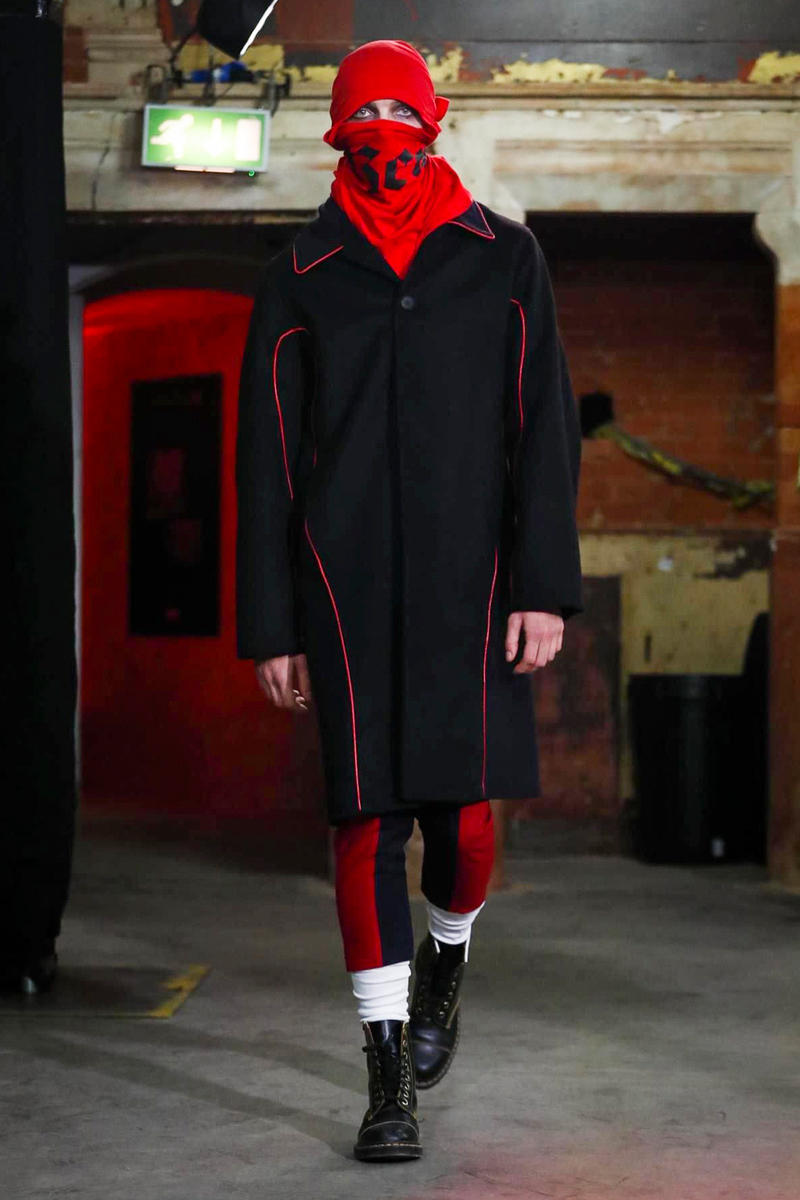 Agi and Sam 2017 Fall Winter Collection Runway Show London Fashion Week Men's