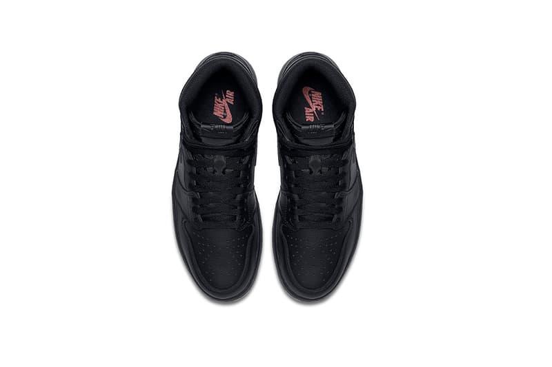 Air Jordan 1 Retro High OG Black Perforated