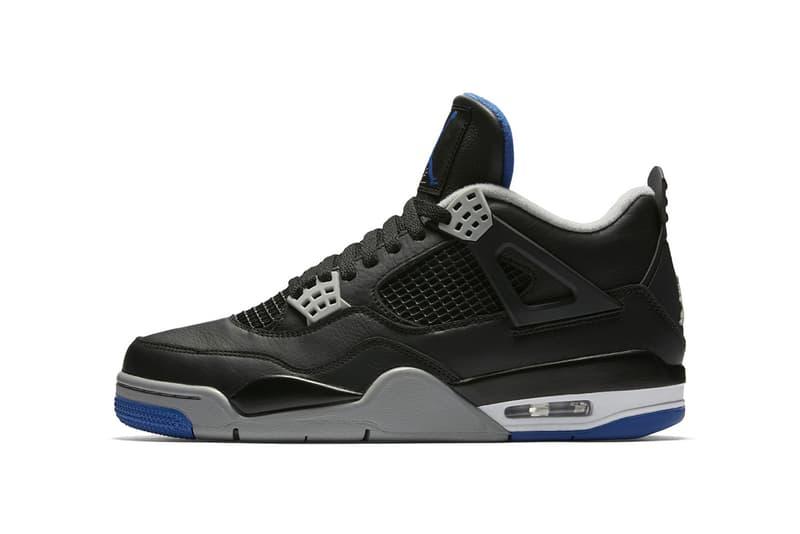 Air Jordan 4 Black Game Royal