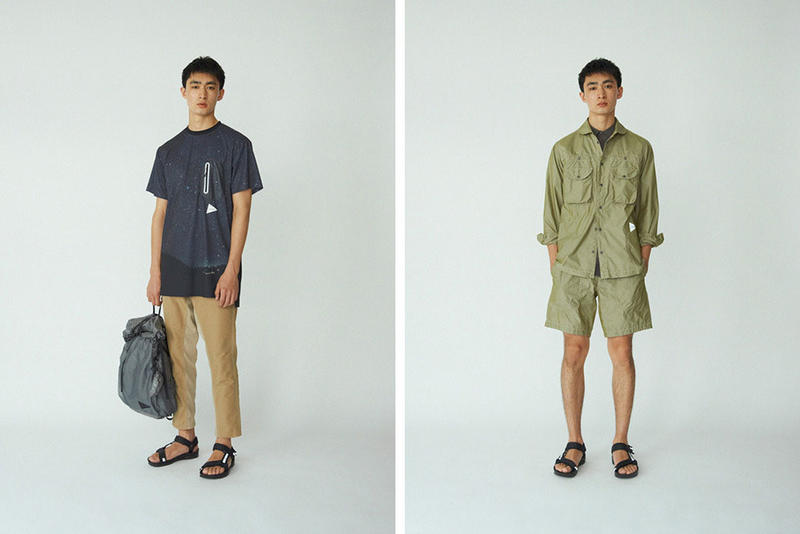 and wander 2017 Spring Summer Collection Lookbook