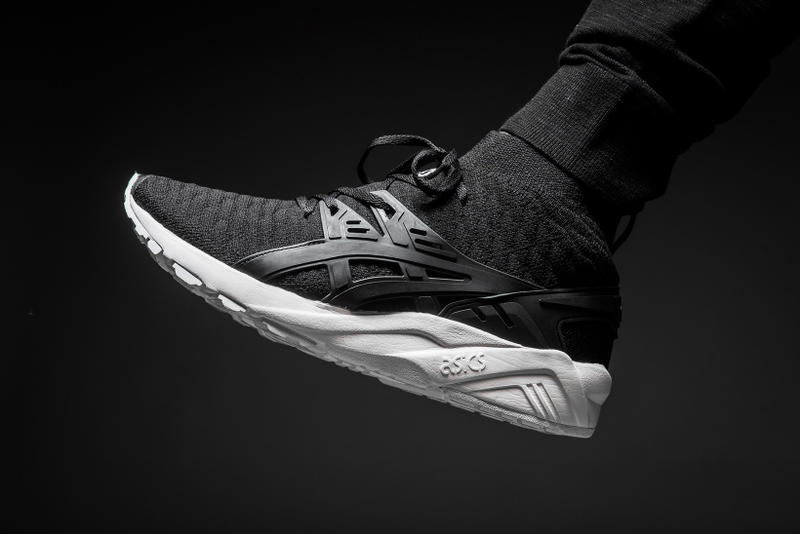 buy popular 72c4c ecae4 ASICS GEL-Kayano Knit in Black & White | HYPEBEAST