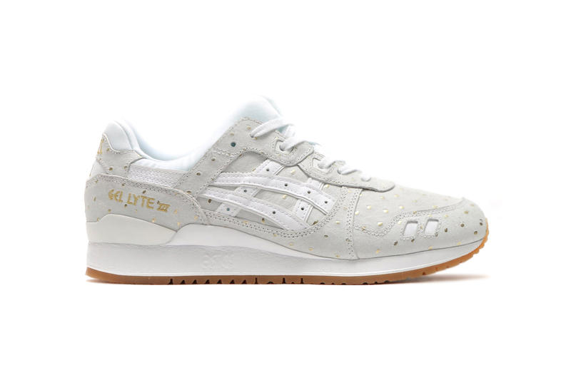 f30a59ed0239c ASICS Drops an Ostrich Leather Two-Pack. Finished in metallic gold. ASICS  GEL Lyte III V ...