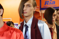 Backstage at Martine Rose's 2017 Fall/Winter Show