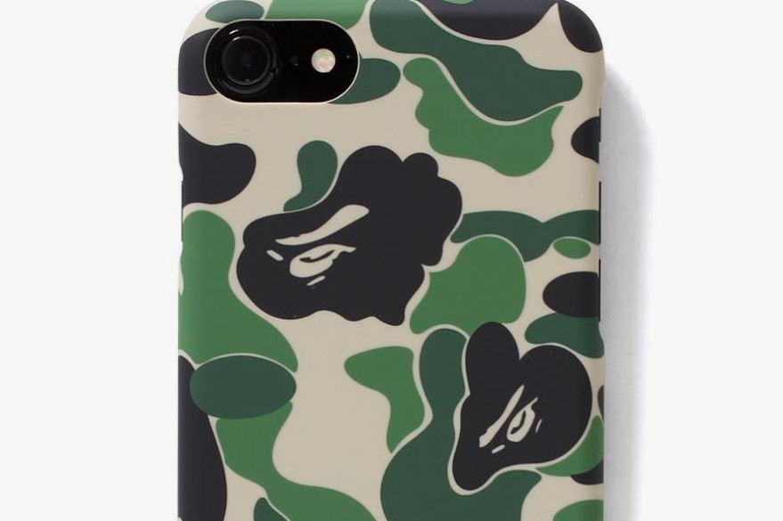 super popular bb5f4 b2b70 BAPE ABC Camo iPhone 7 and 7 Plus Cases | HYPEBEAST