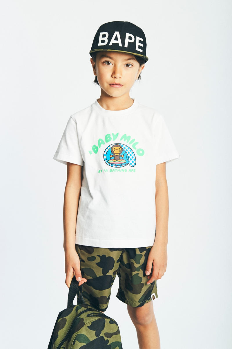 BAPE Kids 2017 Spring Summer Collection Lookbook