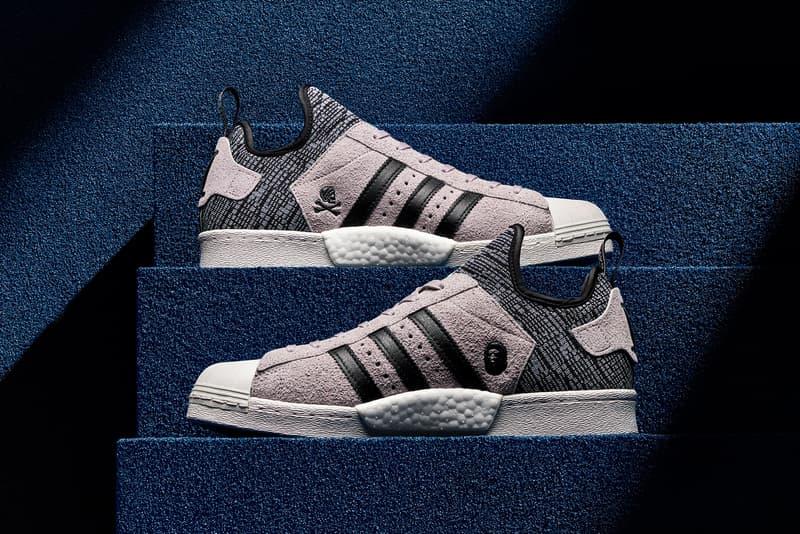 new style d1c57 46890 A First Look at the BAPE x NEIGHBORHOOD x adidas Originals Superstar BOOST