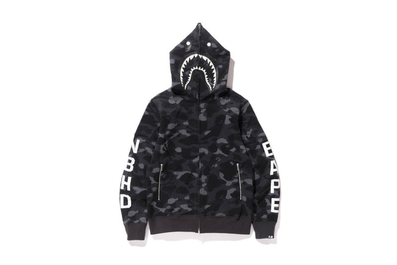 sports shoes 4a0ac 07441 In Depth Look at the BAPE x NEIGHBORHOOD 2017 Collection ...