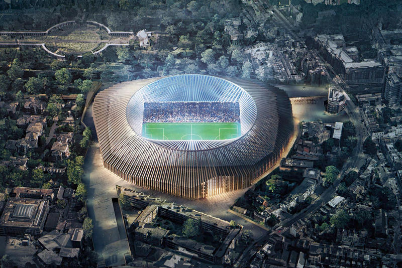 Chelsea FC The Blues Blue Lions New Stadium