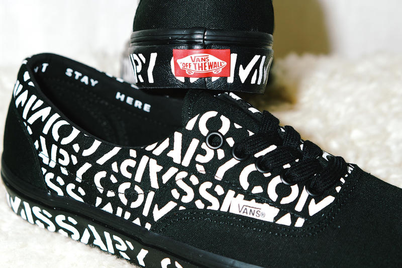 "Commissary x Vans ""Friends and Family"" Vans Era"