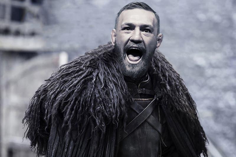 conor mcgregor game of thrones jon snow got hbo fighter ufc mma face scream tv acting movies