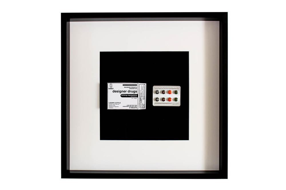 """Daniel Allen Cohen Drug-Themed """"Score"""" Artwork Collection"""