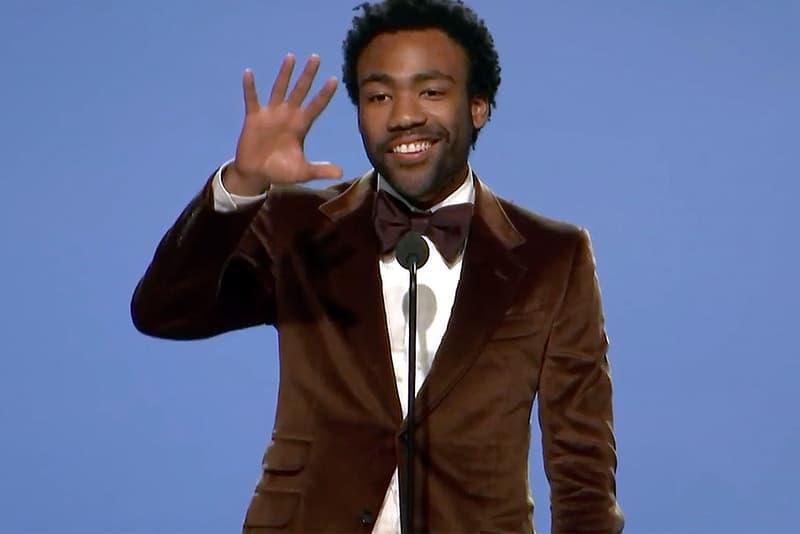 Donald Glover Thanks Migos in 'Atlanta' Acceptance Speech
