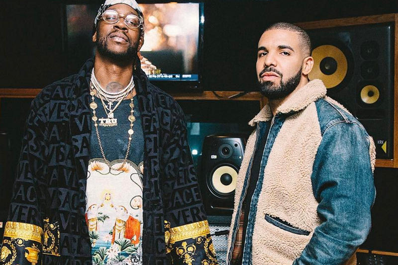 See Photos of Drake, JAY Z, Rick Ross & 2 Chainz in Studio