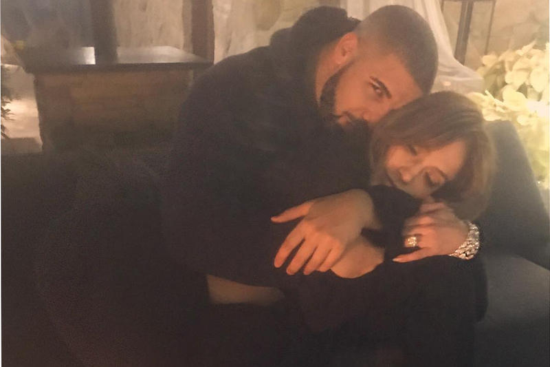 Drake and Jennifer Lopez Spend New Year's Eve Together at His Las Vegas Show Musicians Artists Drizzy J-Lo
