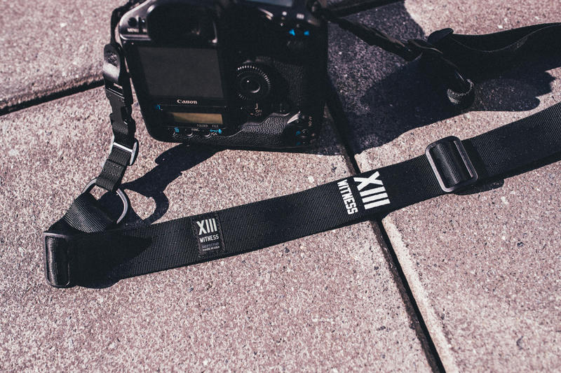 DSPTCH XIII Witness Camera Strap Capsule Collection