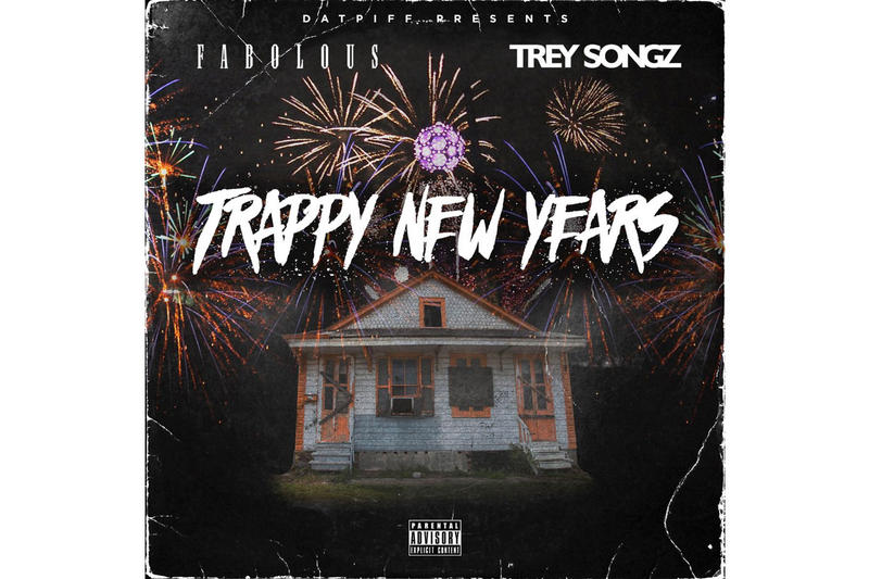 "Fabolous and Trey Songz New Mixtape ""Trappy New Years"" 2017 Music"