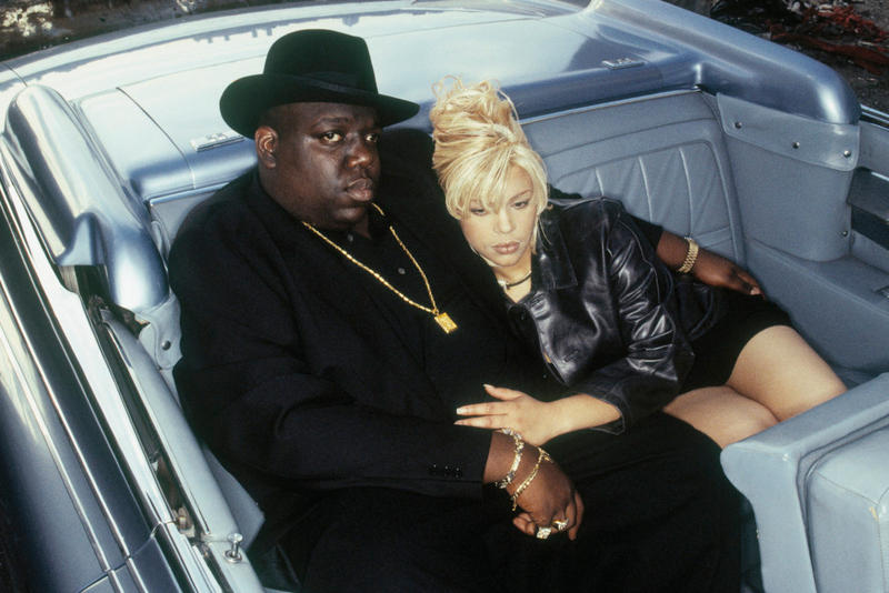 Faith Evans and Notorious B.I.G.