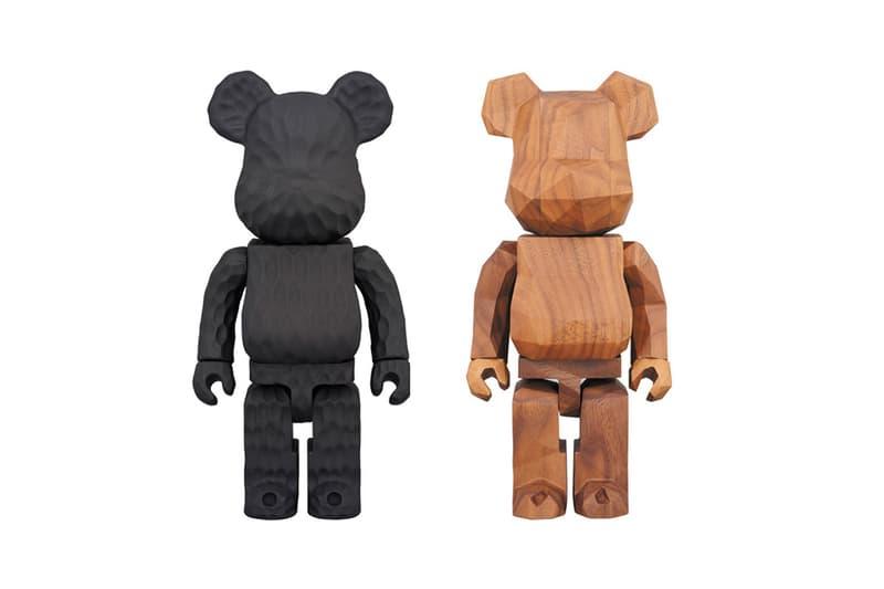 fragment design Medicom Toy Hand Carved Bearbricks