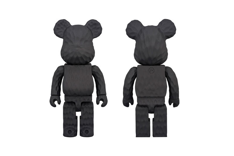 fragment design Medicom Toy Hand Carved Bearbricks