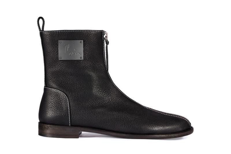 Giuseppe Zanotti Zayn Malik Footwear Collection TAZ JAVAAD ZIGI YASR