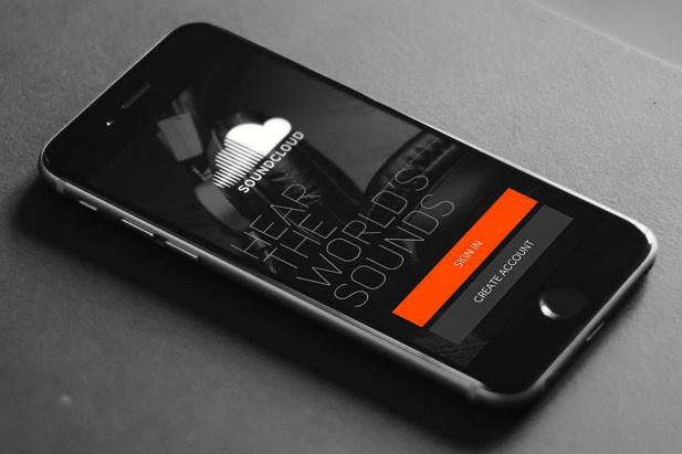 soundcloud app iphone phone smartphone
