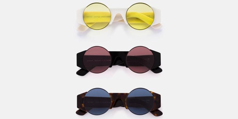 17ac615c985 Gosha Rubchinksiy x SUPER by RETROSUPERFUTURE Eyewear Collection ...