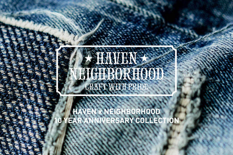 HAVEN x NEIGHBORHOOD 10th Anniversary Collection