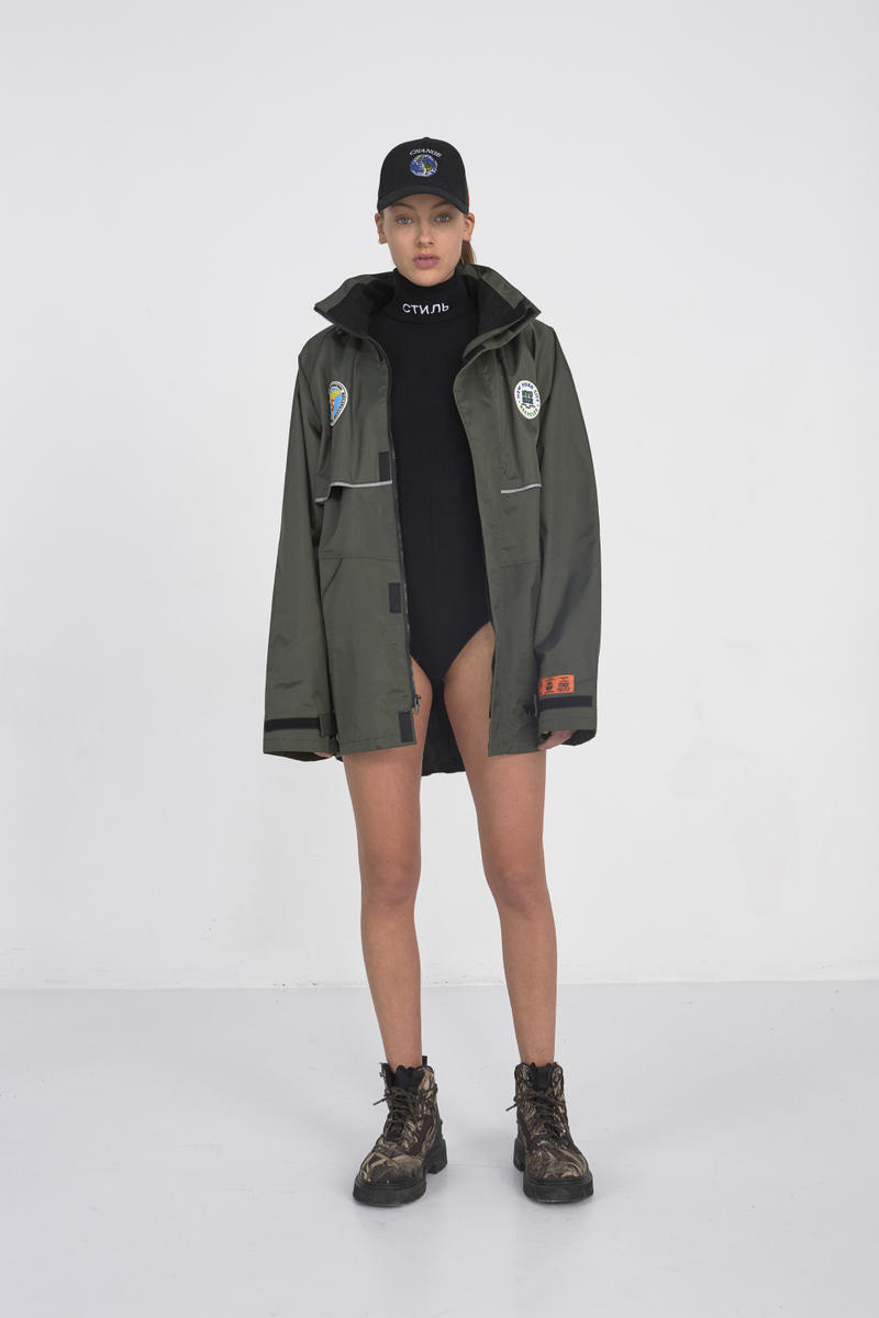 Heron Preston 2017 Fall Winter Collection Paris Fashion Week