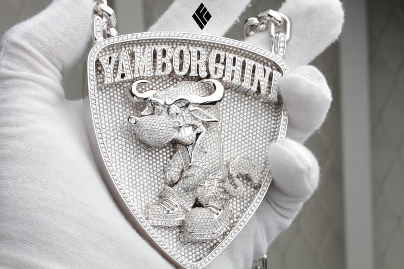 IF & Co. Yamborghini Piece Yams Day Ben Baller