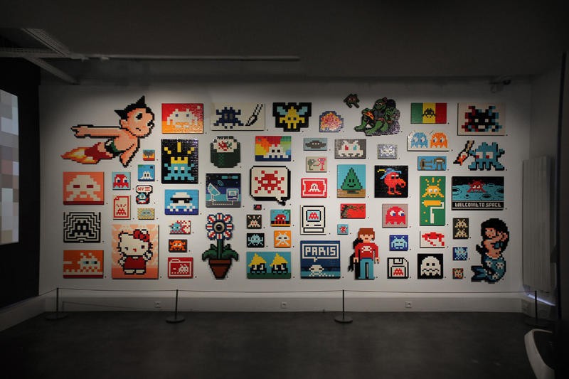 "Invader ""Hello, My Game Is..."" Exhibition"