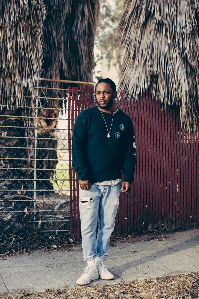 Kendrick Lamar Reebok Classic Club C Campaign Nabil