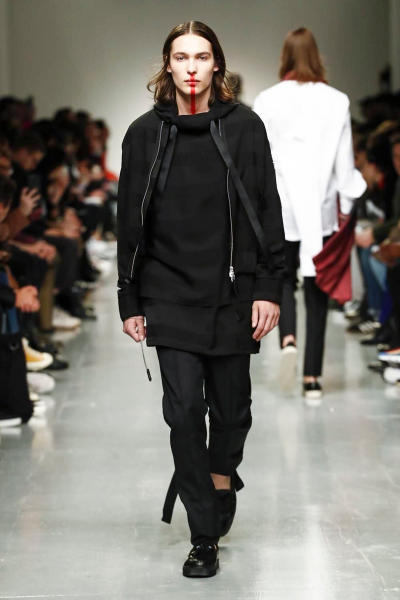 Matthew Miller 2017 Fall/Winter Collection Runway London Fashion Week Men's