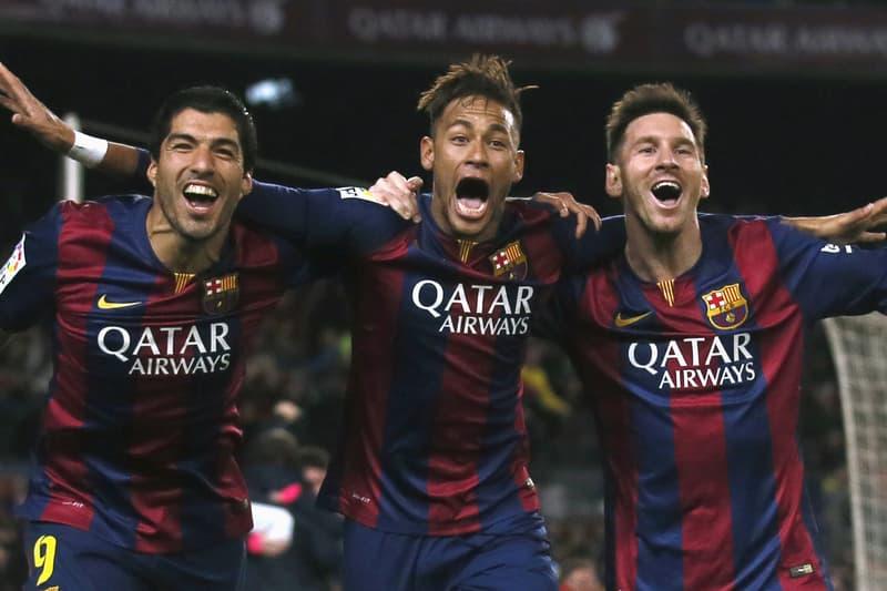 Watch Messi Neymar Jr & Suarez Slam Challenges on a Japanese Game Show Videos Football Lionel Luis