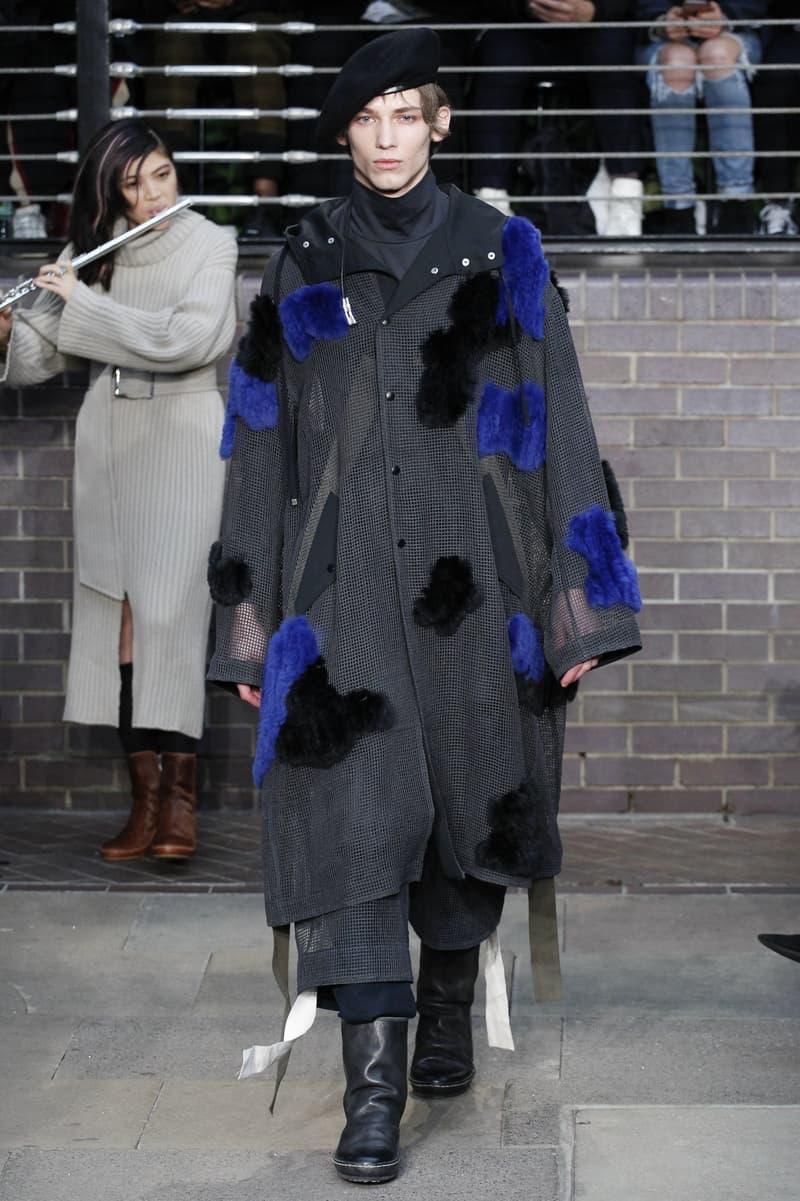 MIHARAYASUHIRO 2017 Fall/Winter Collection Runway Show London Fashion Week Men's Mihara Yasuhiro