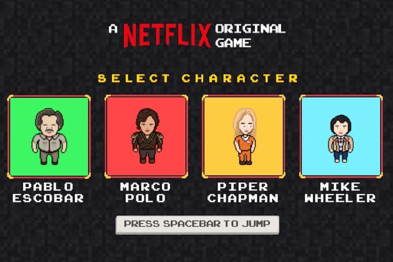 Netflix Infinite Runner
