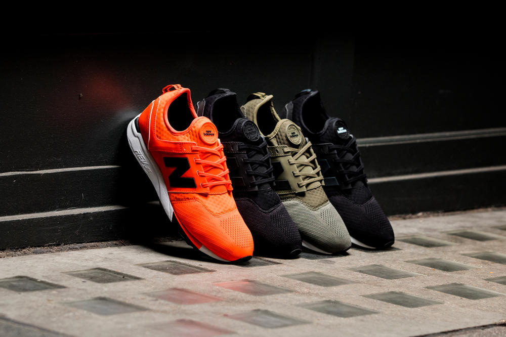 New Balance 247 Sport Orange Olive Black