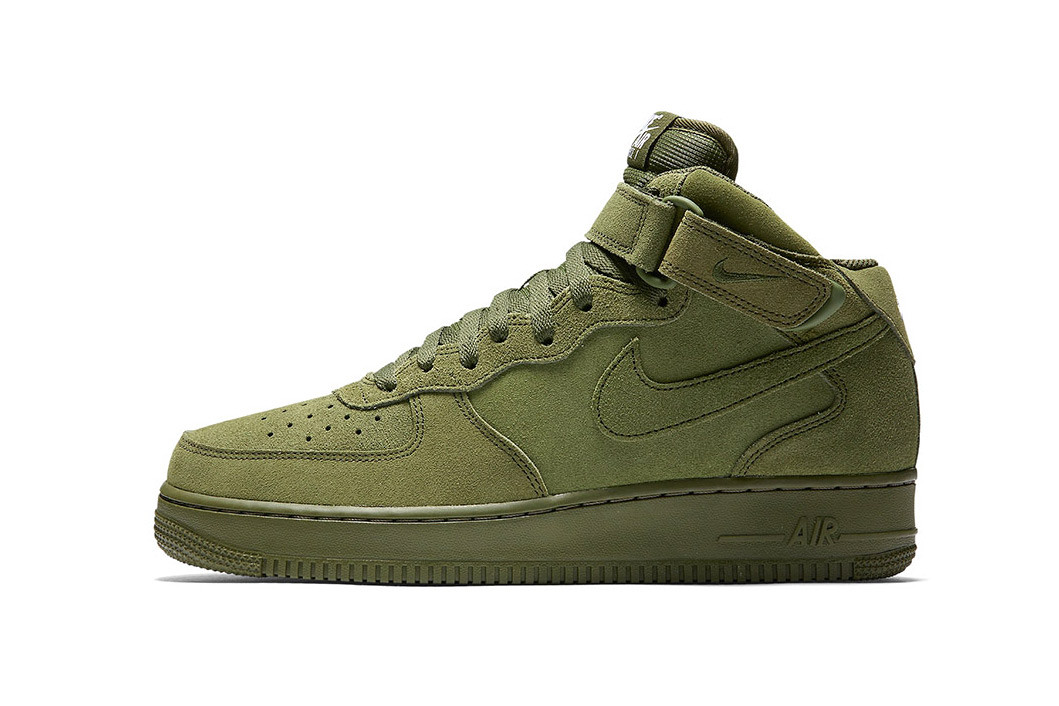 Nike Air Force 1 Mid Continues Love for