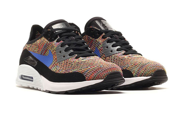 huge discount 216d5 824c3 Multicolor Flyknit Makes Its Way Onto the Nike Air Max 90