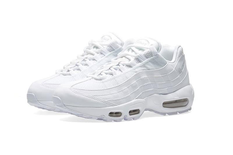 Nike Air Max 95 Triple White Sneaker